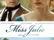 "Nuevo póster ""miss julie"" jessica chastain colin farrell"