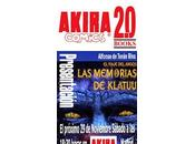 Presentación Madrid «Las memorias Klatuu»