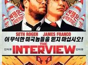 "Póster español ""the interview"" seth rogen james franco"