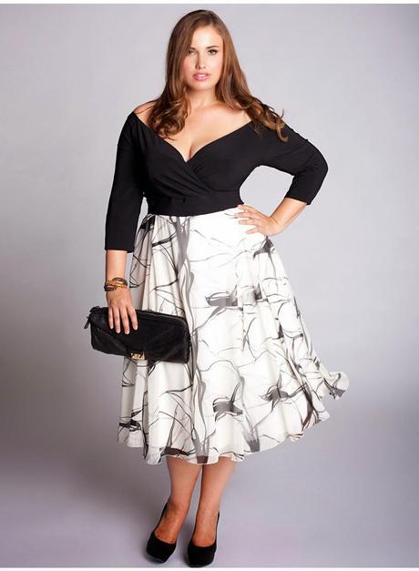 Vestidos En Blanco Y Negro Para Gorditas Paperblog