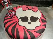 Tarta Cumpleaños Monster High Fondant.