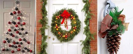 Como decorar la casa para navidad paperblog for Adornar puertas para navidad