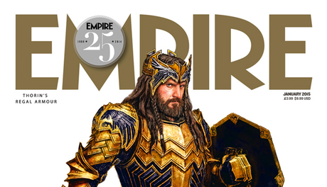 Thorin De The Hobbit: The Battle Of The Five Armies En La Portada De Empire