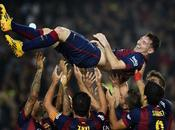 Messi batió récord Zarra