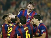 Barça golea ritmo Messi