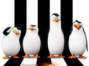 pingüinos Madagascar. divertido ataque cuquería.