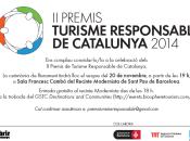 Premios Turismo responsable Cataluña 2014