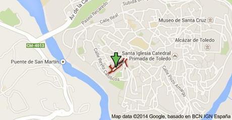 Map of Calle San Juan de Dios, 45002 Toledo