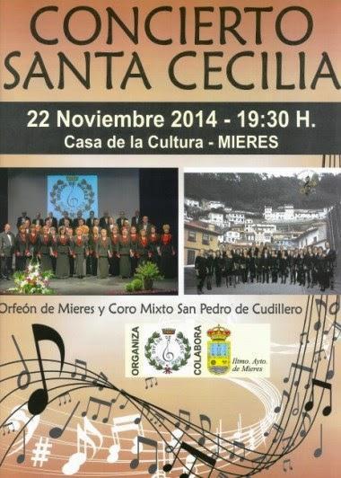 Santa Cecilia coral en Mieres