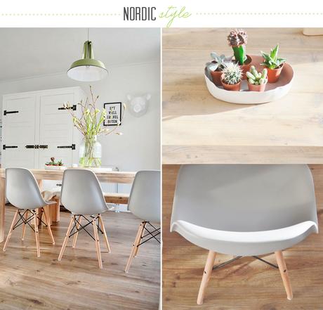 Deco inspiration un comedor de estilo n rdico paperblog - Deco estilo nordico ...