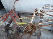 Bicicletas recicladas para poner plantas