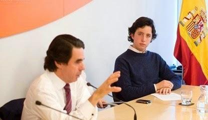 El pequeño Nicolás y Aznar