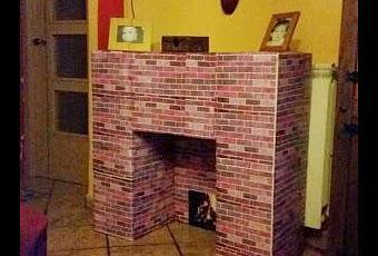 Diy c mo hacer una chimenea casera paperblog - Como construir una chimenea paso a paso ...