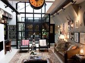 garaje convertido loft Amsterdam. Puro estilo industrial.