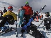 Curso Esquí Alpino Snowboard Adaptado Pinilla 2014/15