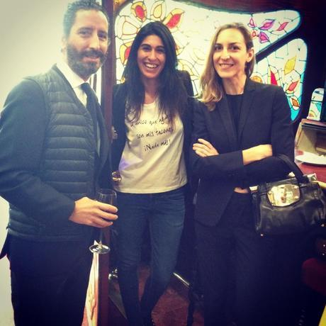 Antonio Mesquida, Carolina Ribera y Maitte Sebastiá