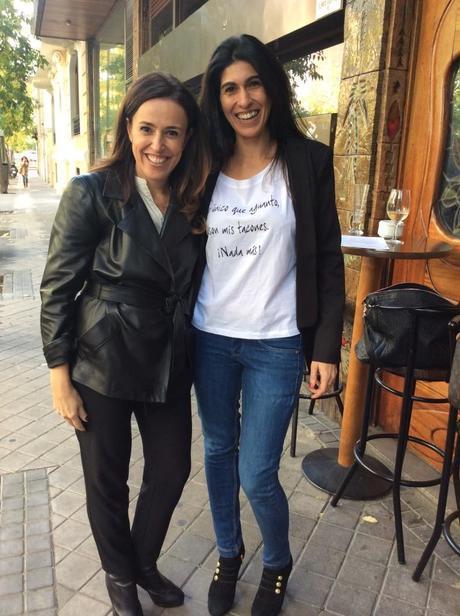 Rosalía Cogollo y Carolina Ribera