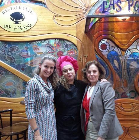 Con Yolanda Iglesias y Paloma Barrientos