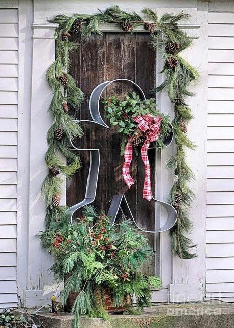 Top 25 ideas para decorar la puerta en navidad paperblog for Ideas para decorar la puerta en navidad