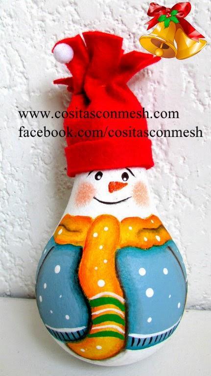 C mo hacer adornos navide os reciclando paperblog - Como realizar adornos navidenos ...