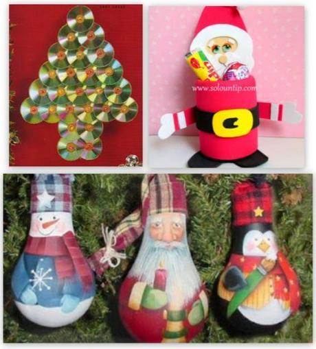 C mo hacer adornos navide os reciclando paperblog - Hacer adornos navidenos ...