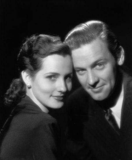 William Holden y Brenda Marshall