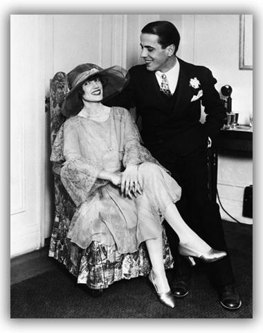 Humphrey Bogart & his first wife, Helen Menken