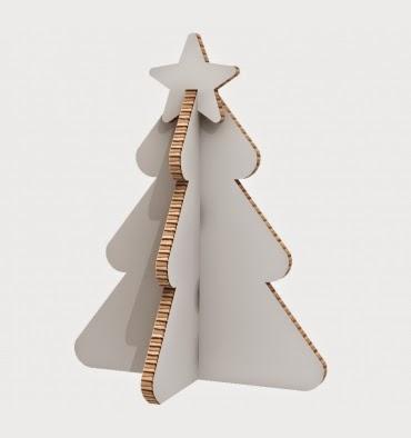 Arboles de navidad de cart n paperblog - Como hacer un arbol de navidad de carton ...