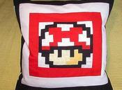 Cojín seta Mario Bros