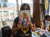 Dibujante peruana triunfa Feria Libro Quito