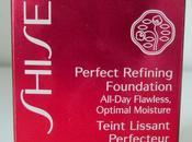 Perfect refining foundation shiseido fapex.es
