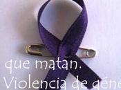 Amores matan. Violencia género.