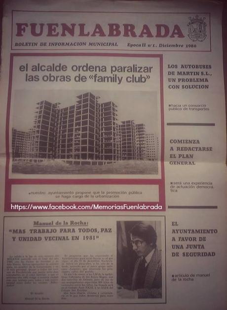 Boletín de Información Municipal de Fuenlabrada Diciembre 1980