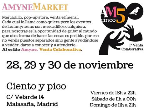 ¡Ya está aquí el AmyneMarket 5!