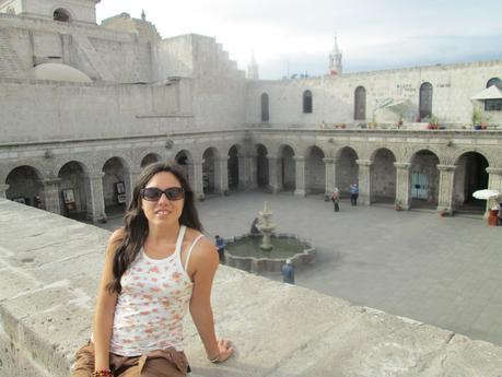 Patio colonial de Arequipa
