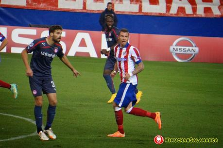 Champions League Atletico de Madrid vs Olympiakos/人生初・チャンピオンズリーグ観戦