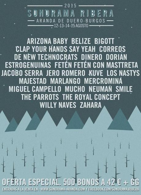 Cartel sonorama ribera 2015 - solo festival