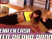 Rutina entrenamiento para hacer casa pierna gluteos abdomen