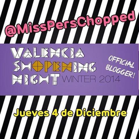 Foto: ¡Qué ilusión! Un año más he sido invitada a ser una de las Bloggers Oficiales de VALENCIA SHOPENING NIGHT!  ¡Nos vemos en 4 de Diciembre! ¡Os seguiremos contando todo por aquí! ☺️✨ #shopeningnightvlc #shopening #night #valencia #blogging #misspersonalchopped