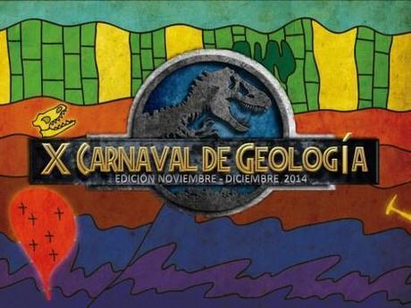 Logotipo oficial del X Carnaval de Geología