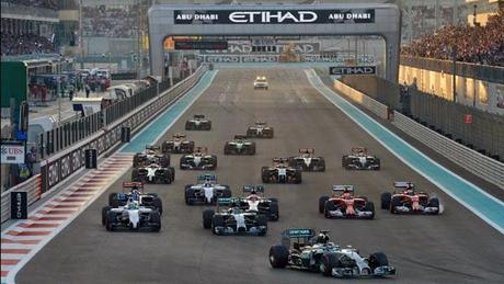 One week later: Yas Marina - Abu Dhabi 2014
