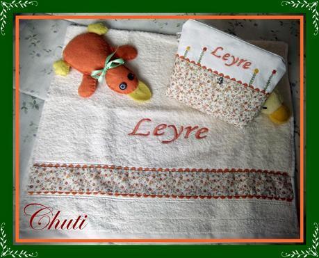 Canastilla y regalo de cumple para Leyre