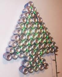 adornos navideos con material reciclado