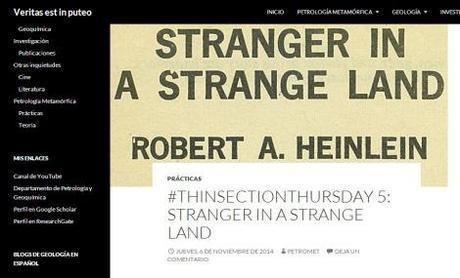 #ThinSectionThursday 5: Stranger in a strange land