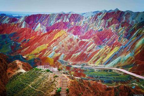 La tierra se viste de colores
