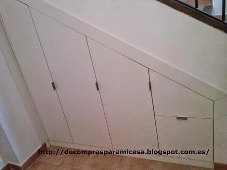 Ideas para aprovechar el espacio bajo la escalera paperblog for Zapatero bajo escalera