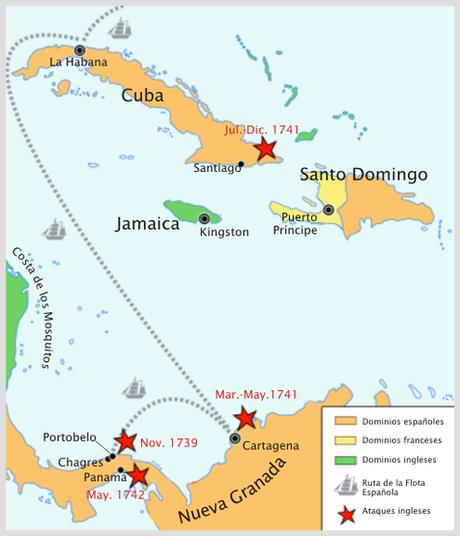 BLAS DE LEZO, LA GUERRA DE LA OREJA DE JENKINS Y EL SITIO DE CARTAGENA DE INDIAS: LA REVANCHA DE LA ARMADA INVENCIBLE