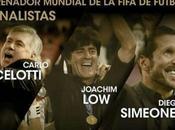 Ancelotti, Simeone, finalistas mejor entrenador