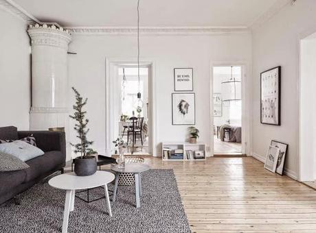 Inspiraci n deco estilo n rdico en blanco y negro paperblog - Deco estilo nordico ...