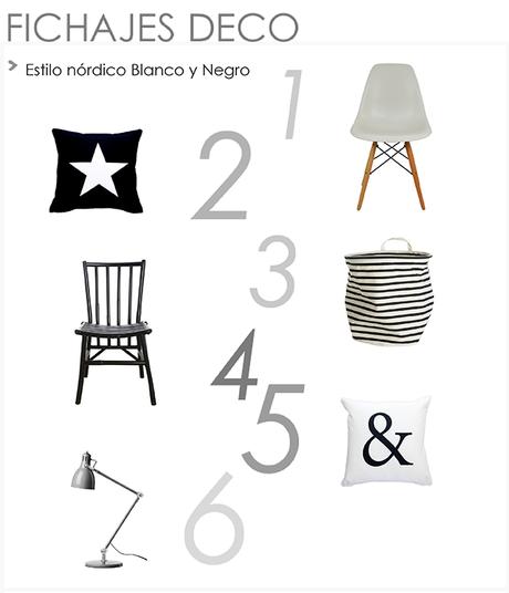 Inspiraci n deco estilo n rdico en blanco y negro paperblog for Corredor deco blanco y negro